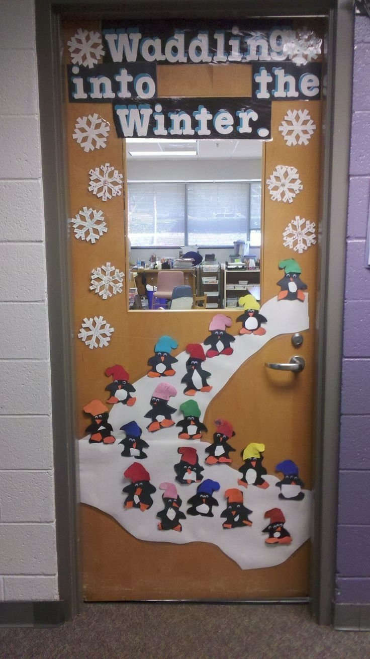 10 Wonderful Christmas Door Ideas For School 83 best winter projects images on pinterest winter holiday 2020