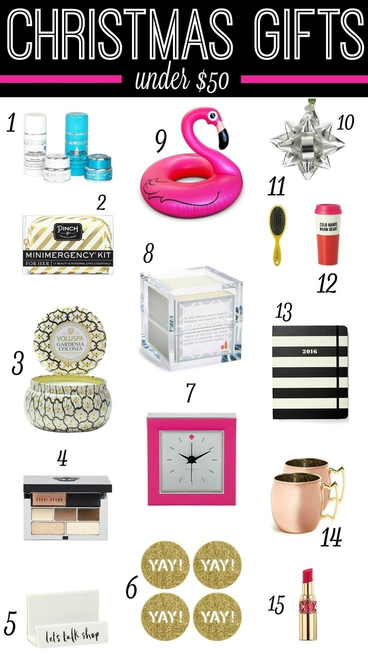10 gorgeous gift ideas under 50 dollars 85 best girly gift giving images on pinterest birthdays - Best Christmas Gifts Under 50