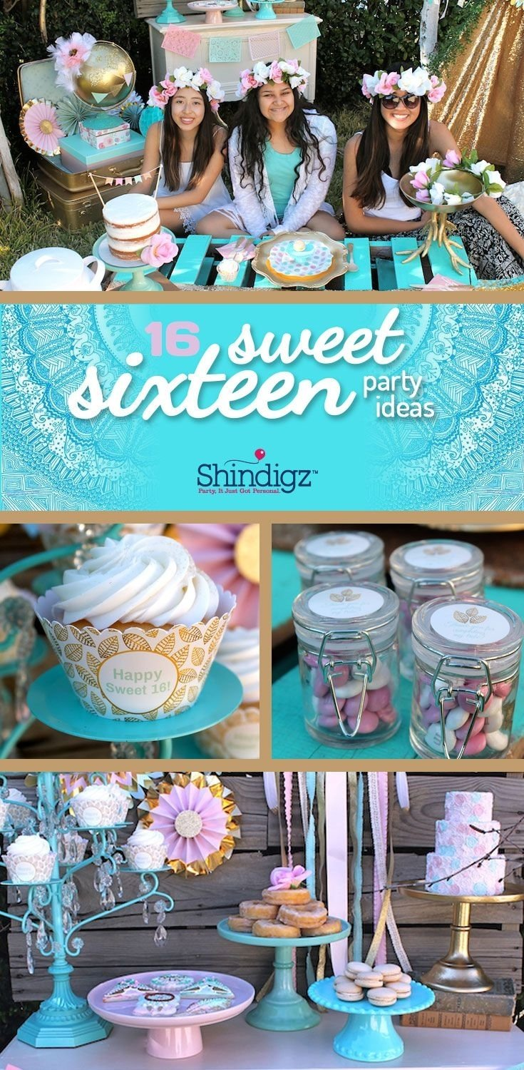 10 Stunning Sweet Sixteen Ideas No Party 87 best sweet 15 images on pinterest dessert tables party ideas 2021
