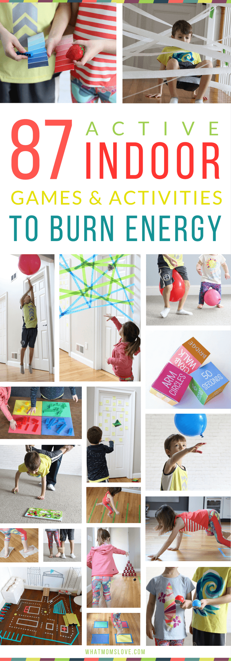 87 energy-busting indoor games & activities for kids (because cabin