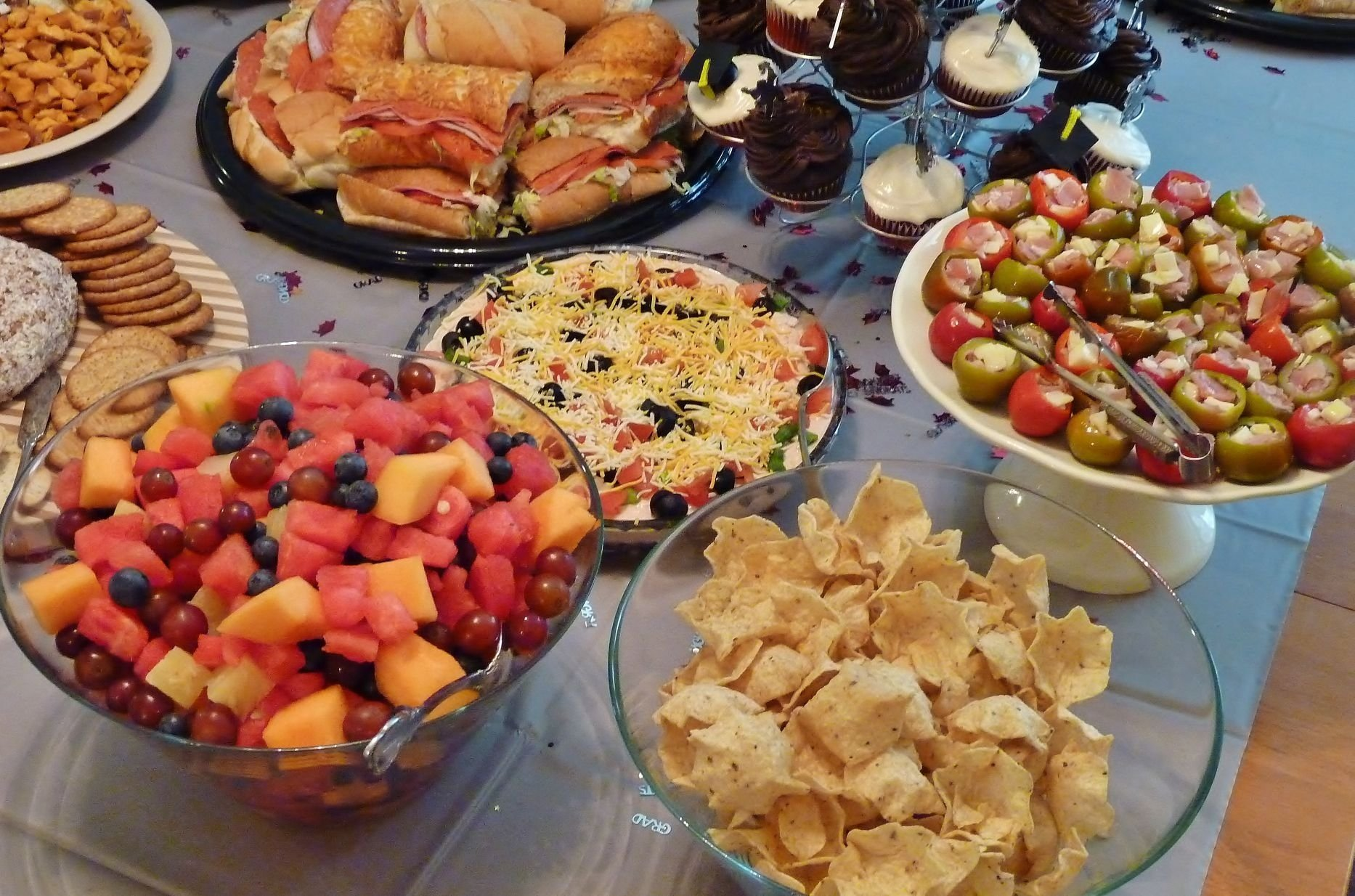 10 Stylish Graduation Open House Menu Ideas 88 food ideas graduation open house graduation party food ideas 2021