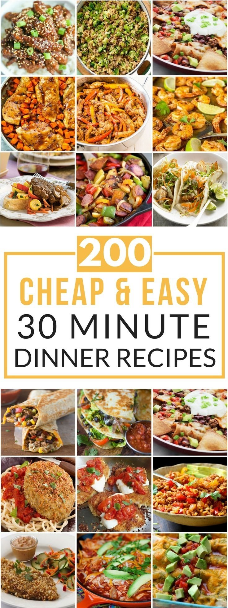 10 Nice Cheap Dinner Ideas For 2 886 best budget recipes images on pinterest cheap meals cooking 2021
