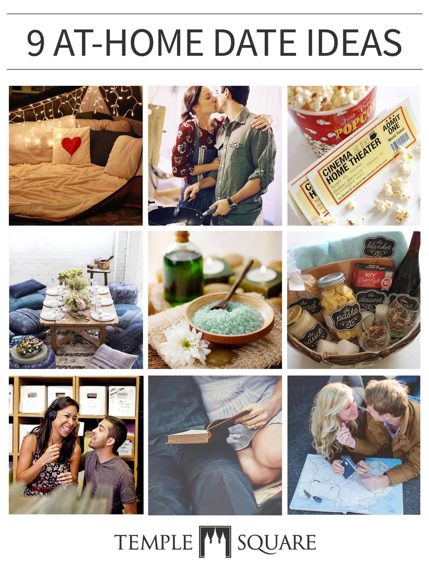 10 Lovely Date Ideas For Rainy Days 9 at home date ideas crafts 2020