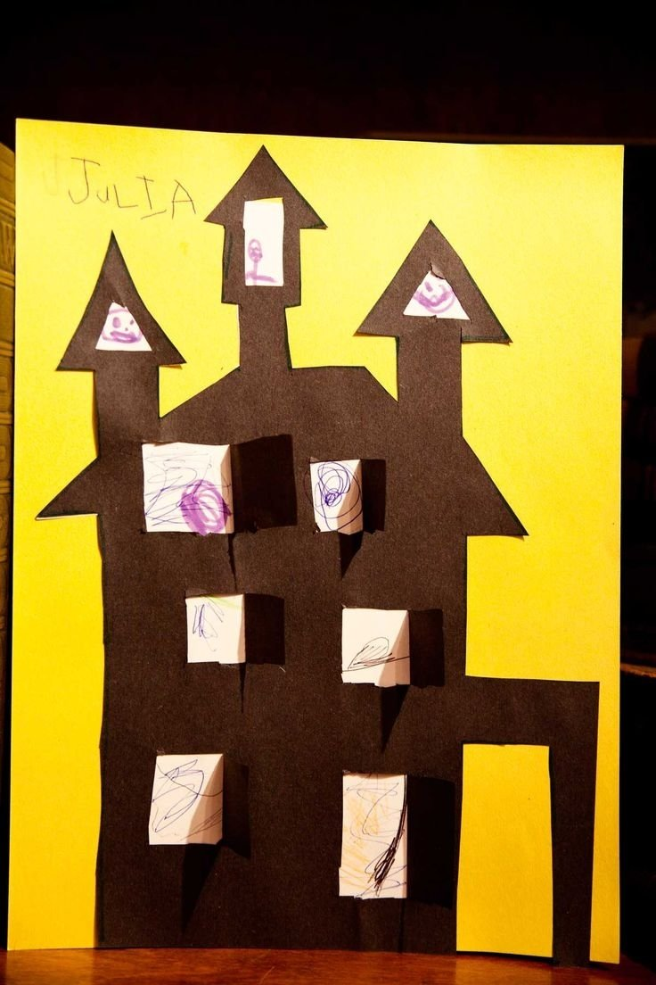 10 Attractive Haunted House Ideas For Kids 9 best cute art activities on haunted houses for kids images on 2021