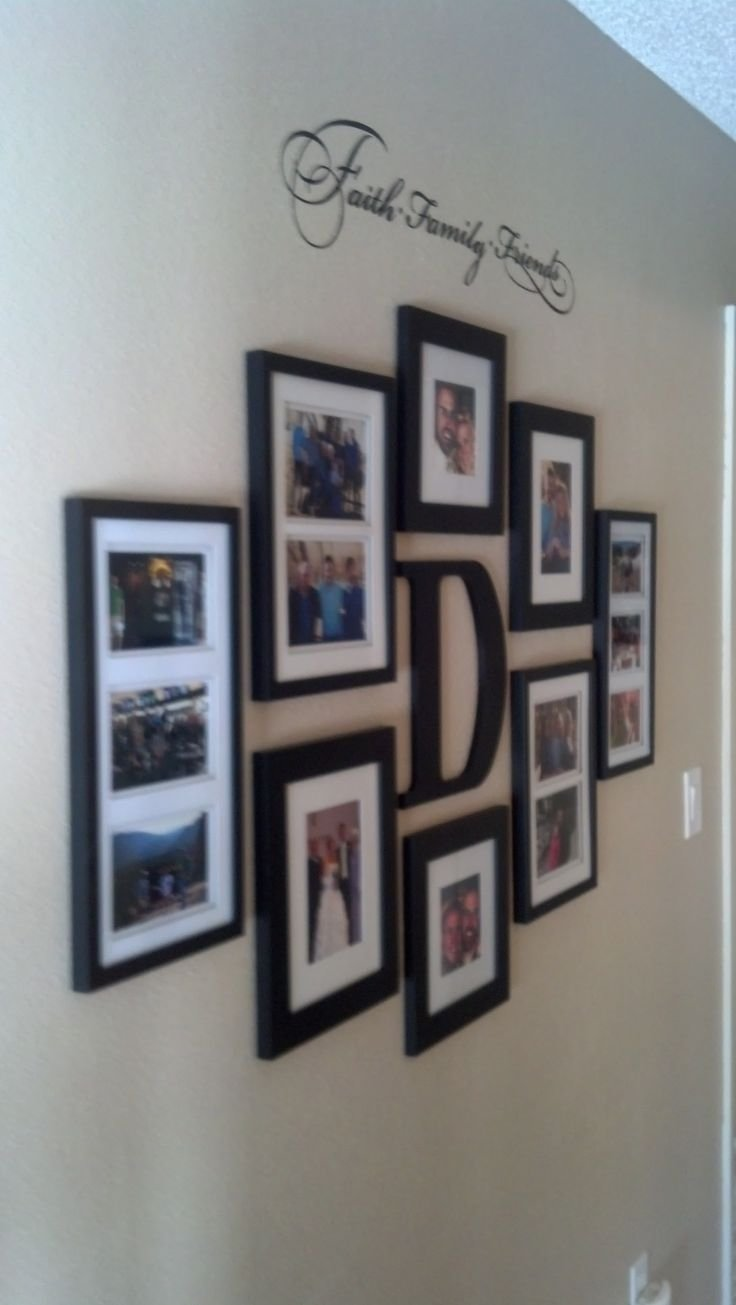 10 Most Popular Picture Frame Collage Ideas For Wall