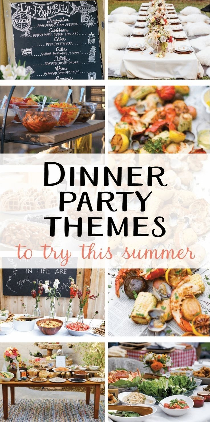 10 Stylish Summer Dinner Party Menu Ideas 9 creative dinner party themes to try this summer on dinners 2021