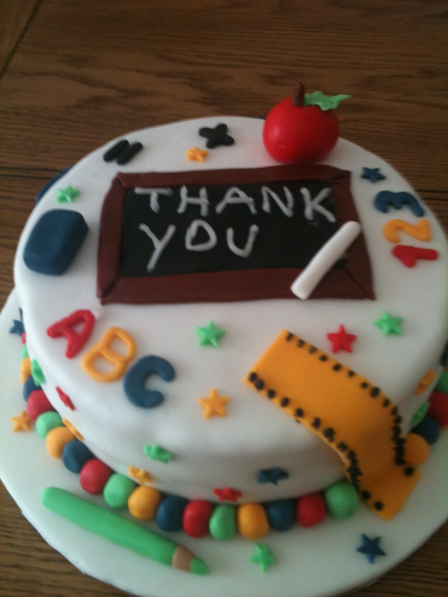 10 Best Back To School Cake Ideas 9 decorated cakes for teachers photo teacher retirement cake
