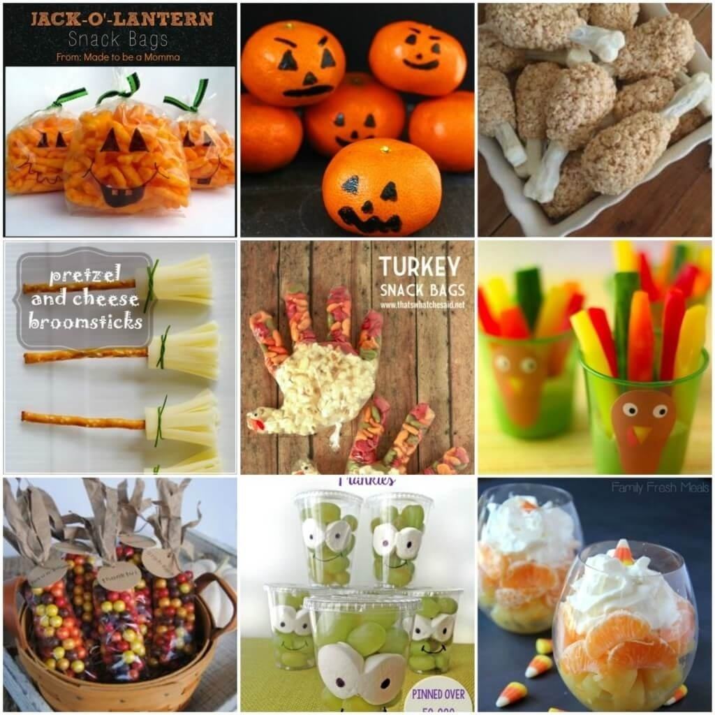 9 fall snack ideas for kids - mother2motherblog