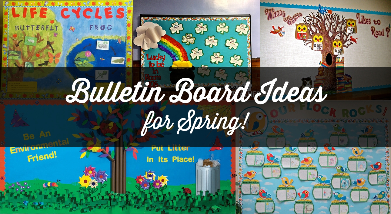 10 Spectacular April Bulletin Board Ideas For Teachers 9 fun spring bulletin boards for your classroom
