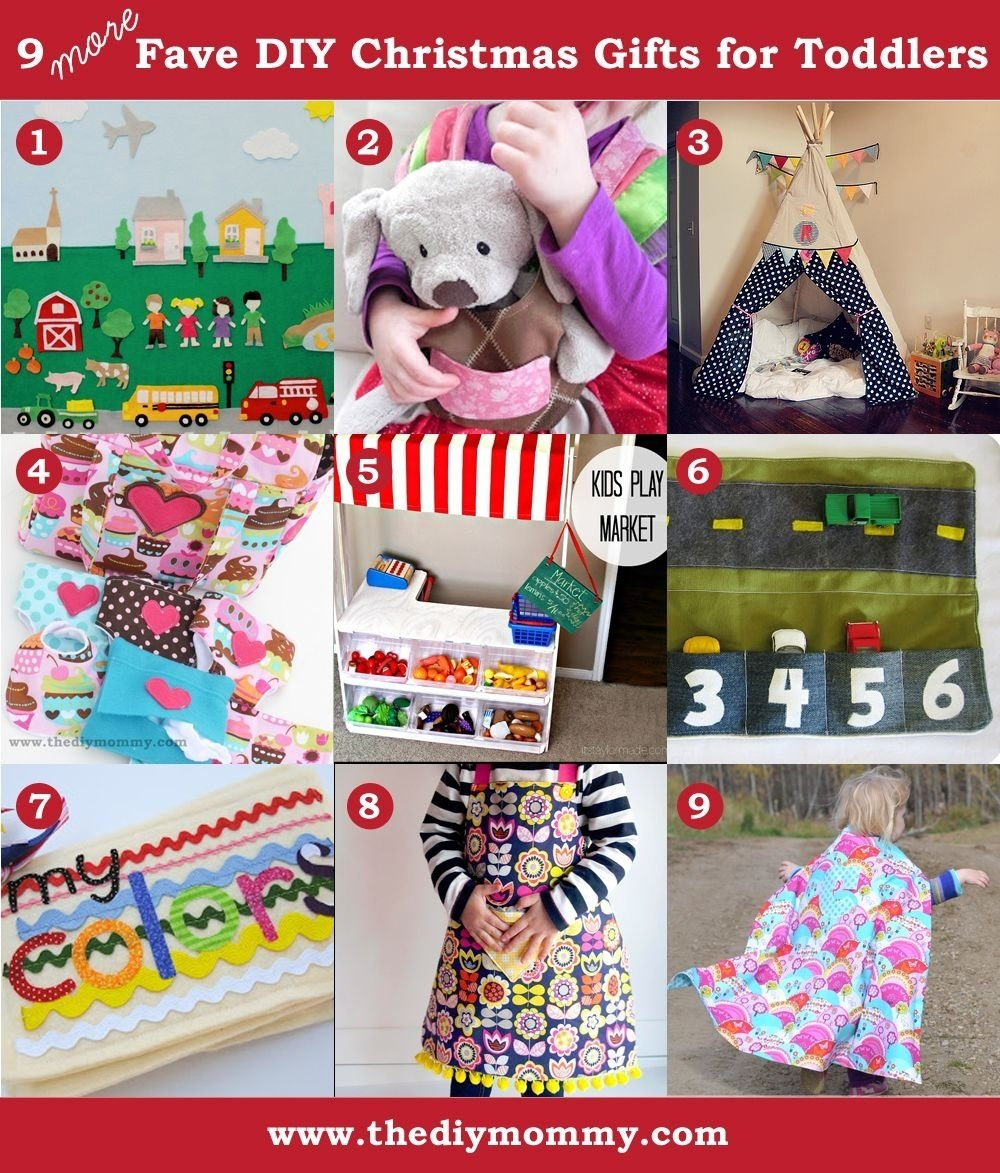 10 Attractive Holiday Gift Ideas For Kids 9 more favourite diy toddler christmas gifts the diy mommy 2021