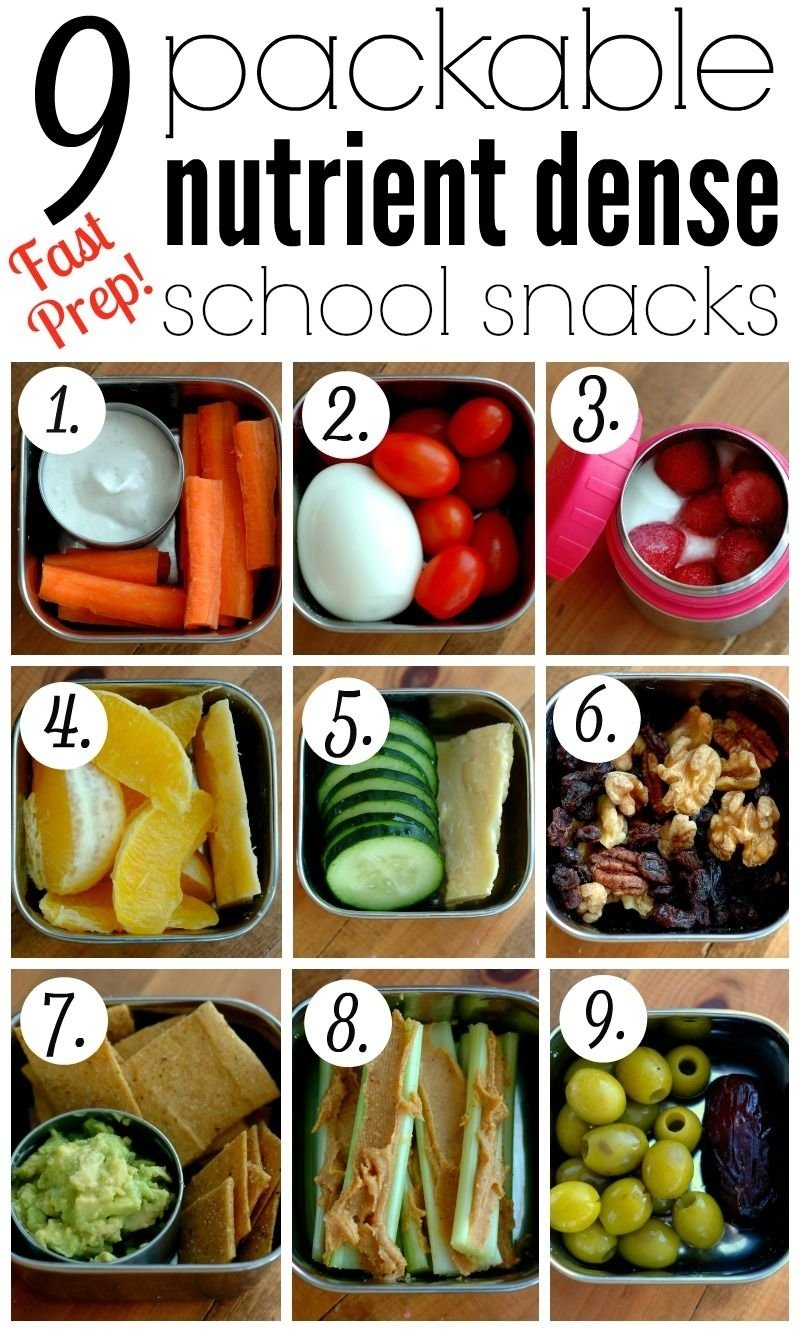 10 Fantastic School Snack Ideas For Kids 9 packable nutrient dense school snacks snacks ideas snacks and 2020