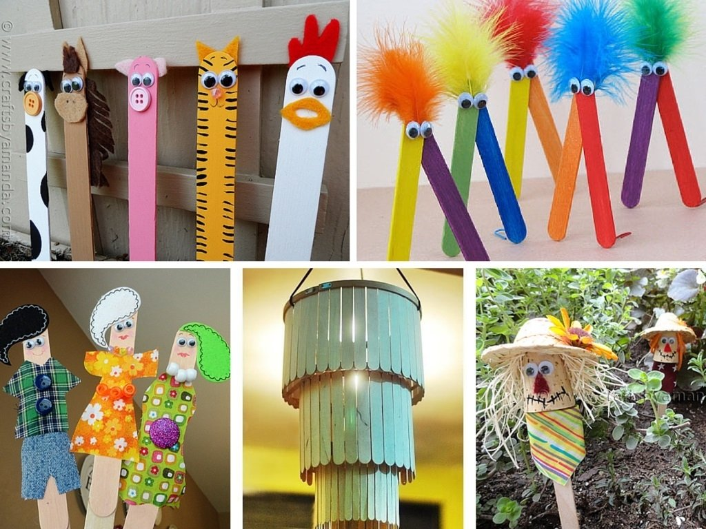 10 Spectacular Craft Ideas With Popsicle Sticks 9 super easy and inexpensive diy popsicle stick crafts 2021