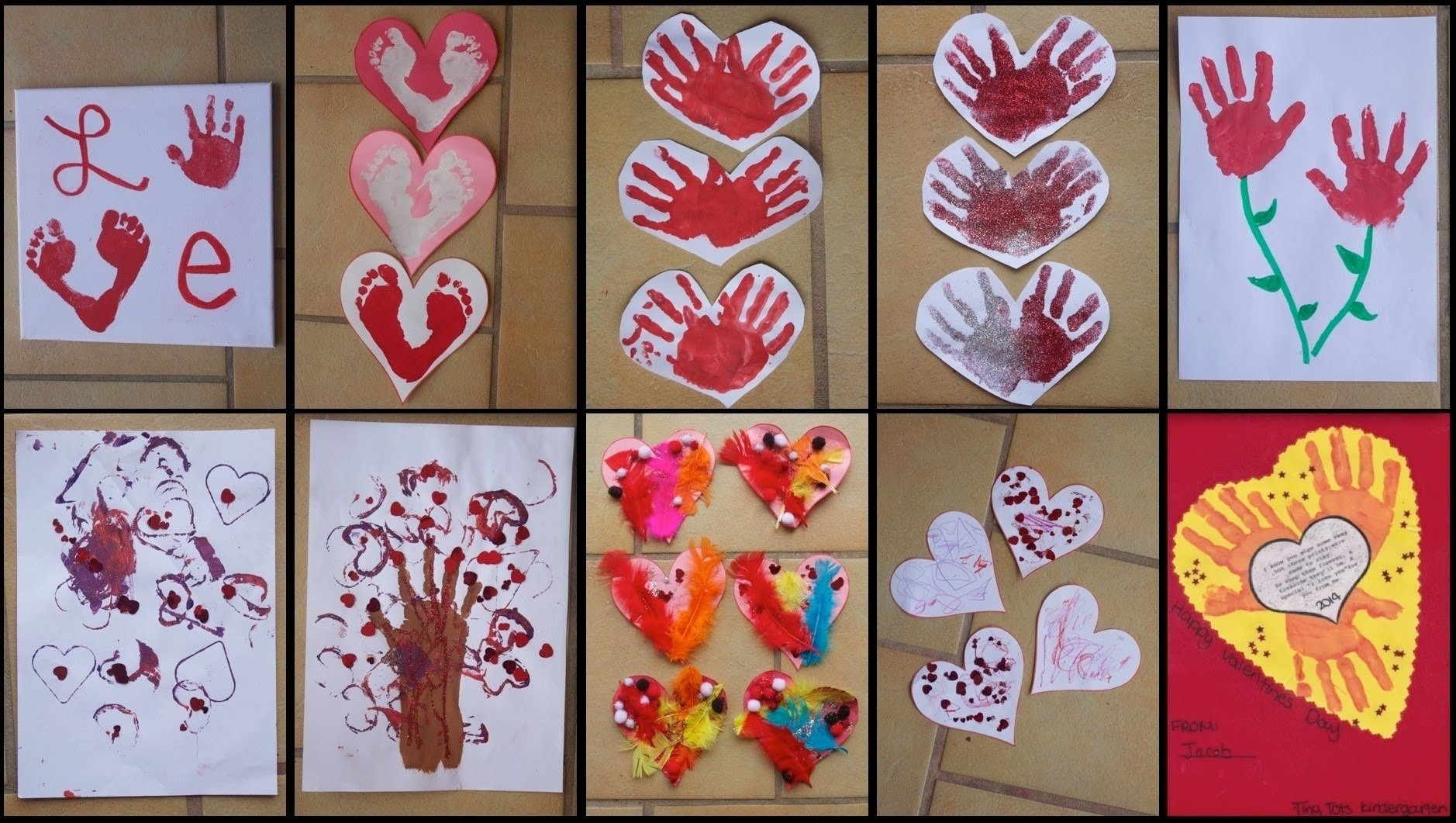 9 valentine's day crafts for toddlers & kids! - youtube
