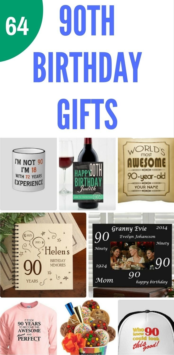 10 Ideal 90Th Birthday Gift Ideas Female 90th birthday gifts 50 top gift ideas for 90 year olds 90th 2