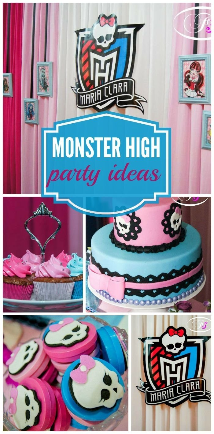 10 Lovely Monster High Party Food Ideas 91 best monster high party ideas images on pinterest monster high 2 2020
