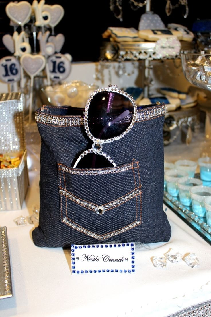 10 Amazing Sweet 16 Party Ideas Pinterest 95 best denim diamonds candy table images on pinterest candy