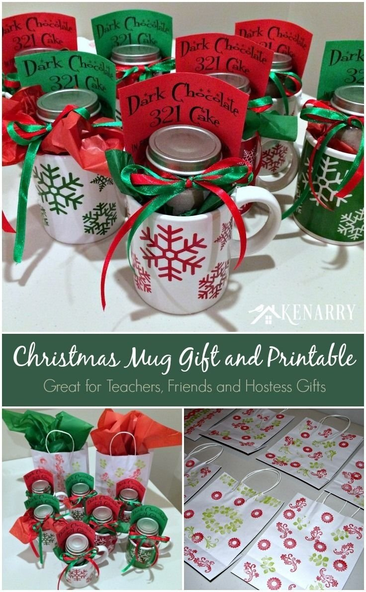 Teacher gift ideas for christmas pinterest gifts