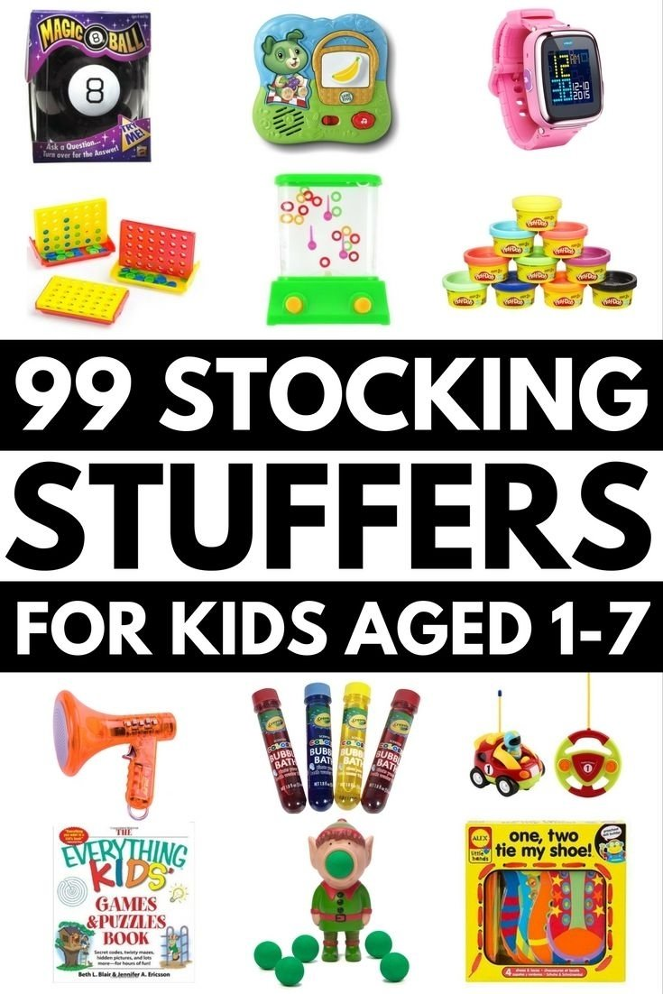10 Nice Christmas Stocking Ideas For Kids 99 stocking stuffers for kids 12 months to 7 years stocking 2020