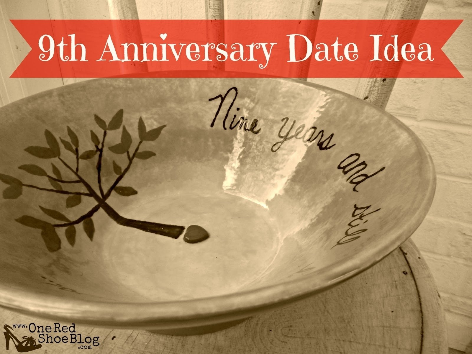 9th anniversary - pottery (idea for anniversary date night