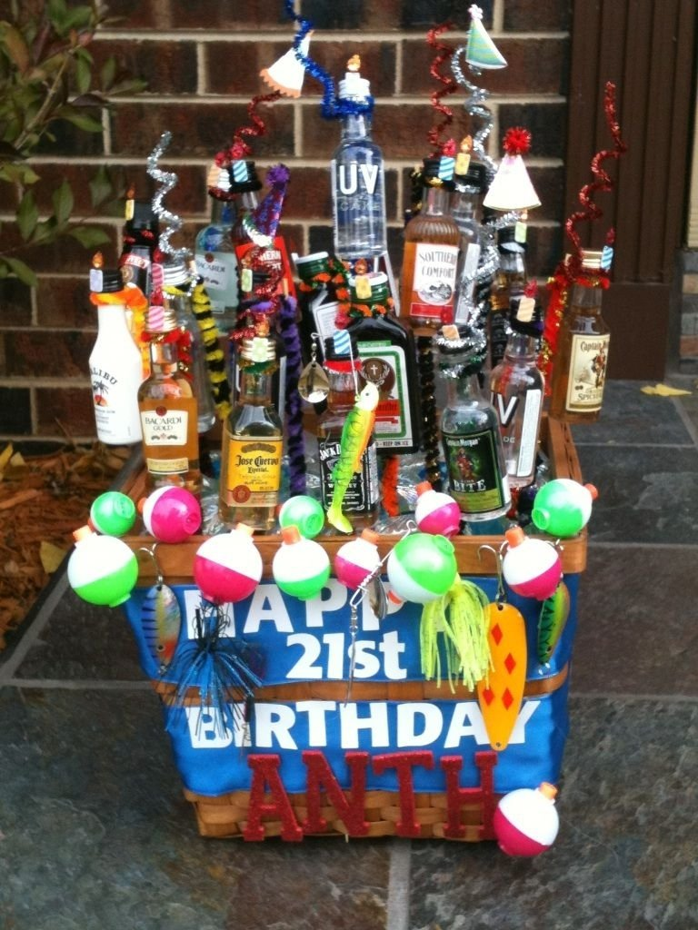 10 Lovable Cool 21St Birthday Gift Ideas a 21st birthday present my mom made for my boyfriend there are 21 1 2021
