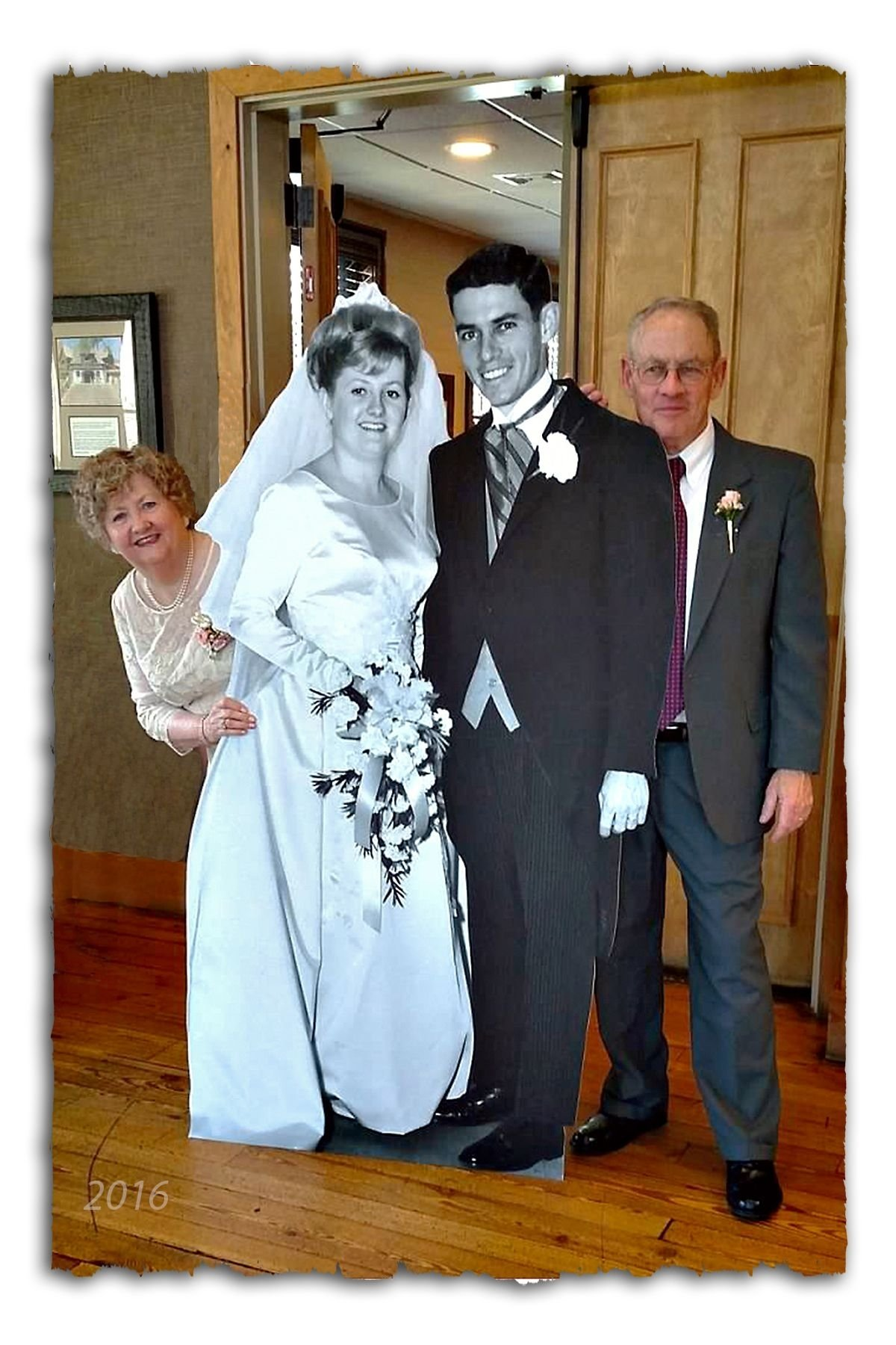 10 Great 50Th Wedding Anniversary Gift Ideas For Friends a 6 cutout wedding picture taken 50 years ago was a hit at our 50th 2021