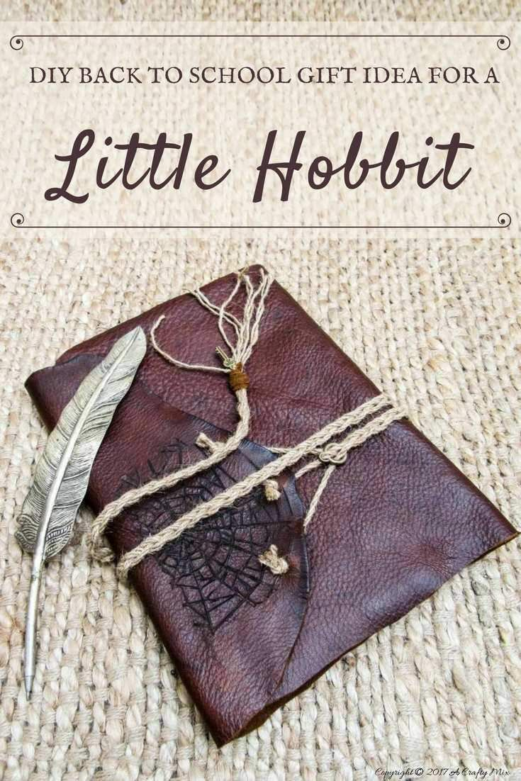a back to school journal inspiredlord of the rings | diy ☆ gift