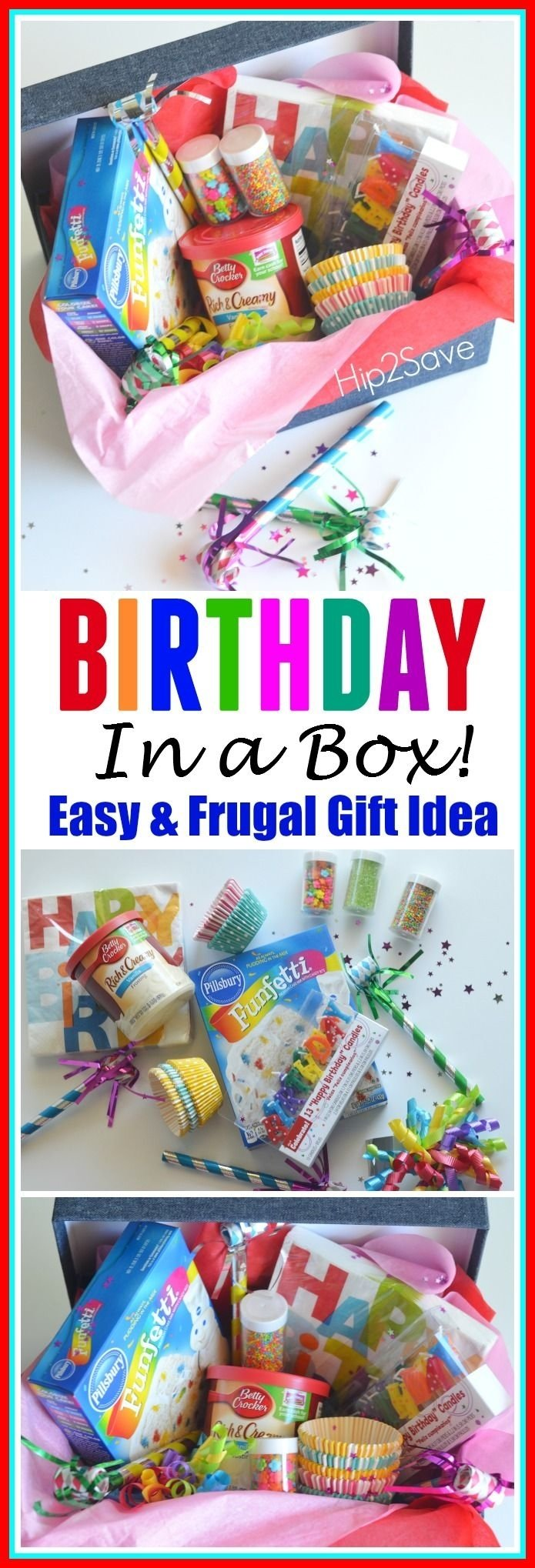 10 Unique Party In A Box Ideas a birthday in a box gift for grandma box birthdays and minis 2020