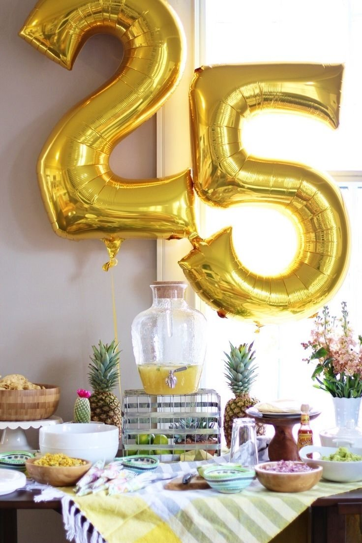 10 Perfect Ideas For 25Th Birthday Party