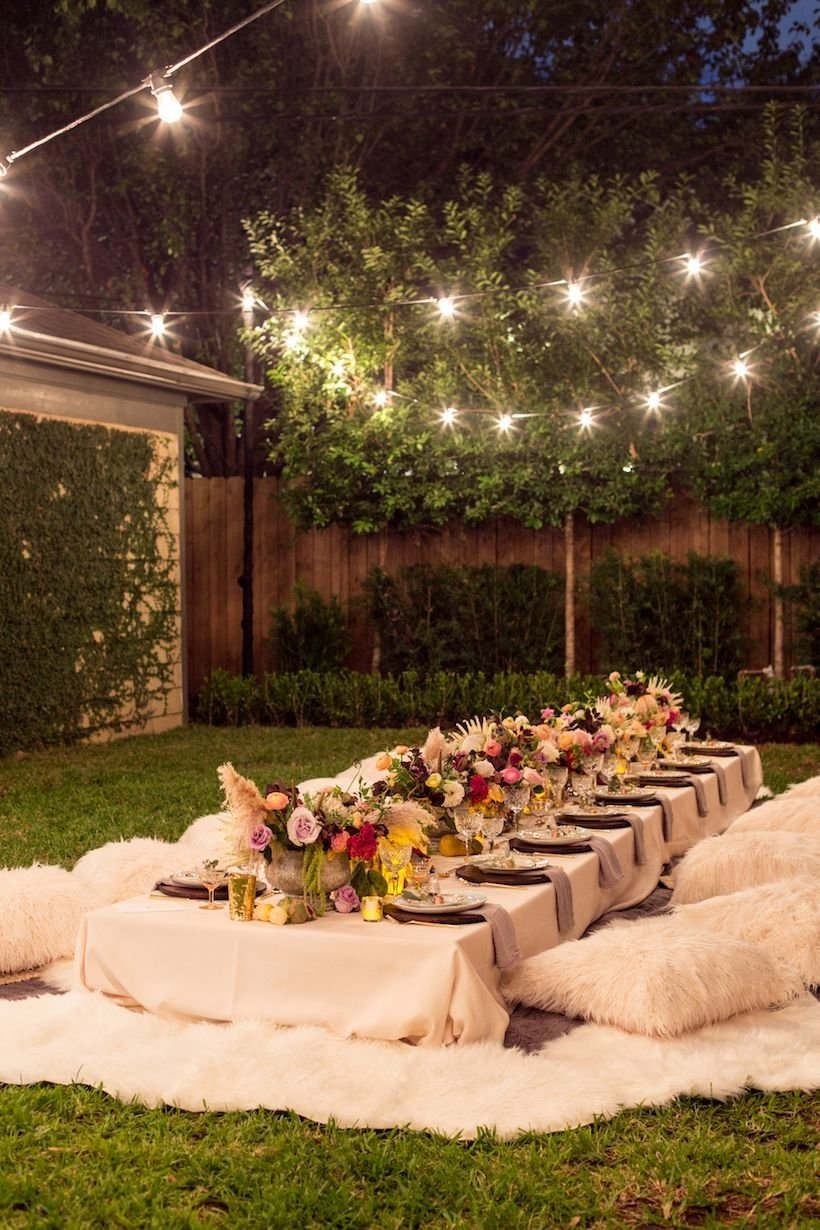 10 Stylish Backyard Birthday Party Ideas For Adults 2019