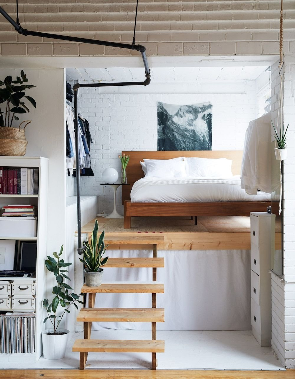 10 Gorgeous Interior Design Ideas For Small Spaces a book filled loft in toronto toronto lofts and toronto lofts
