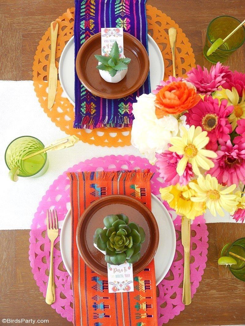 10 Attractive Cinco De Mayo Gift Ideas a colorful cinco de mayo mexican fiesta party ideas party printables 2 2020