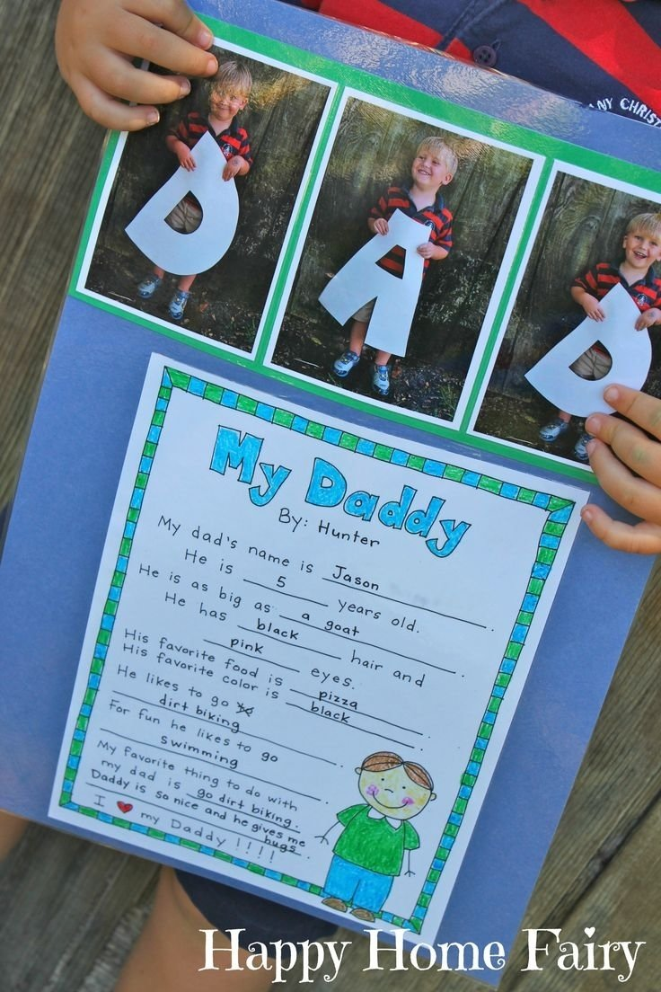 10 Elegant Fathers Day Ideas For Toddlers a fathers day project free printable project free free