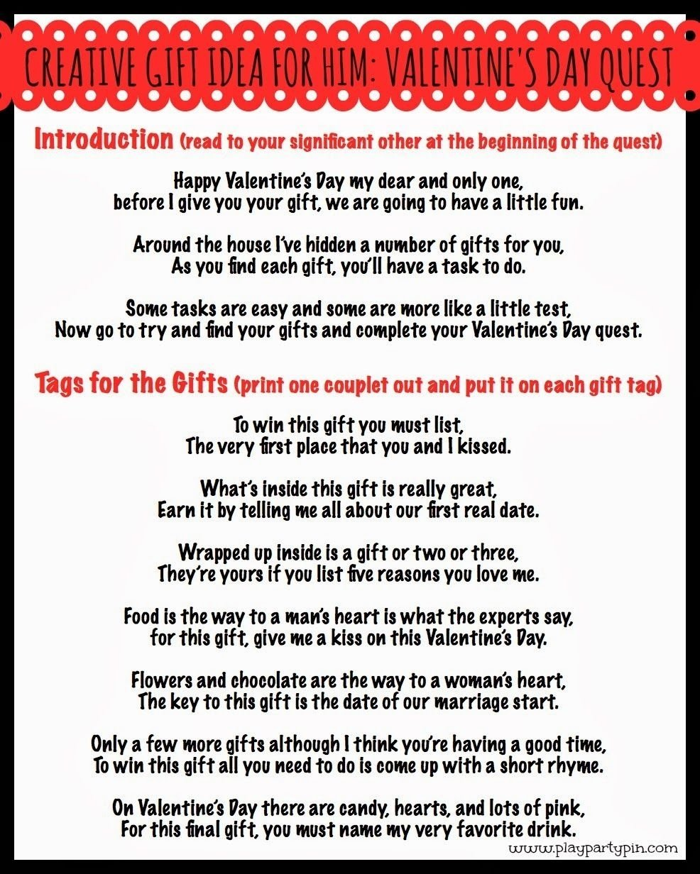 a fun and creative valentine's day gift idea for him | share your