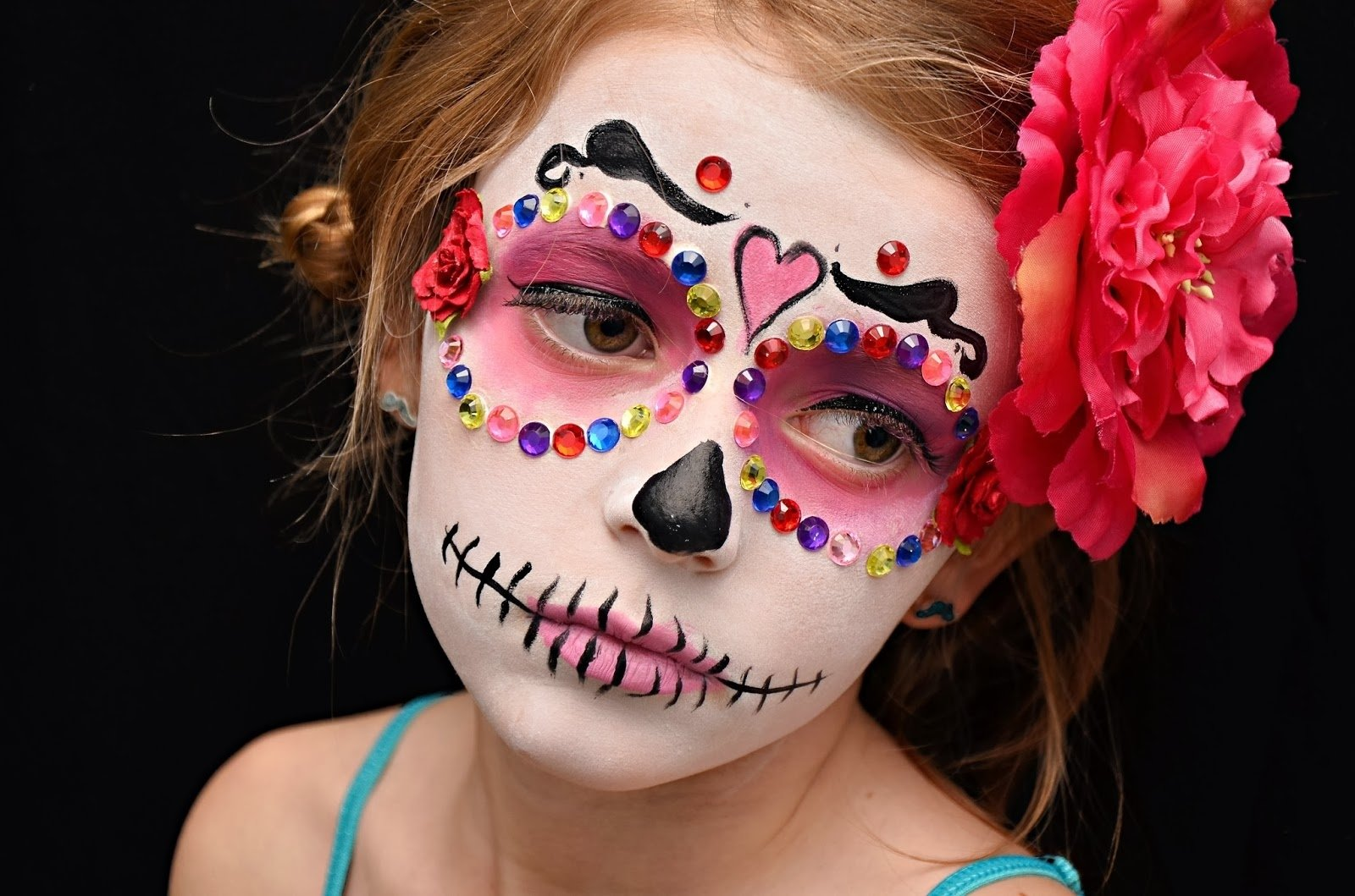 10 Wonderful Dia De Los Muertos Costumes Ideas a fun dia de los muertos make over photo shoot party and the kids 3