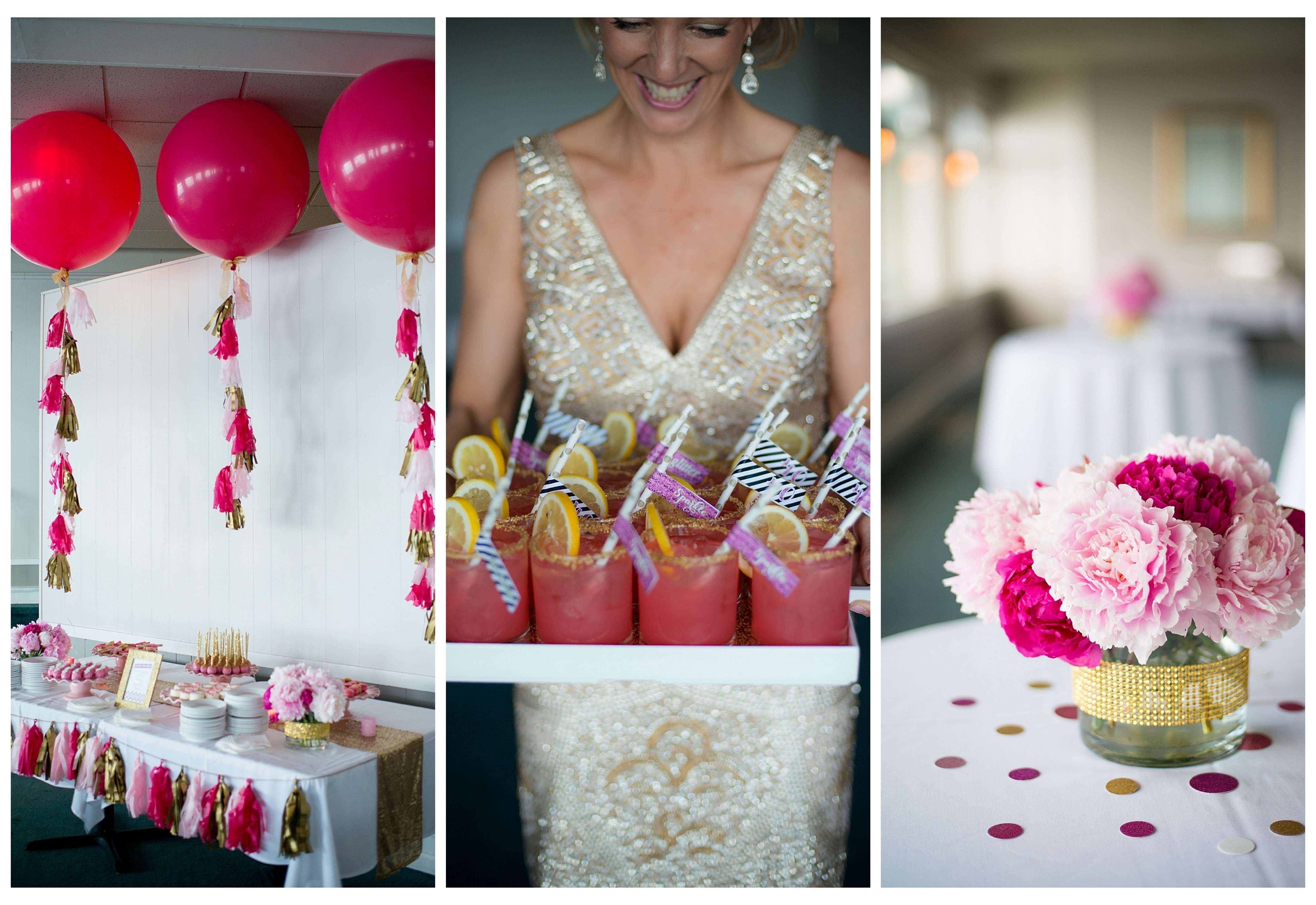 10 Lovely Ideas For 40Th Birthday Party Female a glam 40th birthday party 3 2020