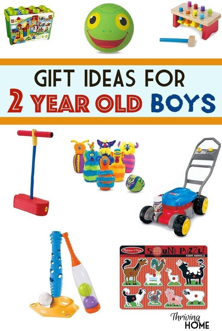 a great collection of gift ideas for two year old boys. pinning this