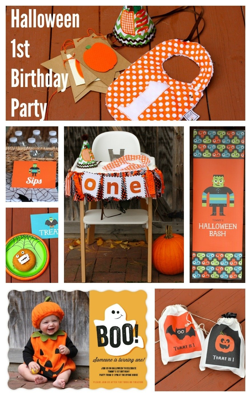 10 Attractive Halloween 1St Birthday Party Ideas a halloween first birthday party invites decor and party planning 2020