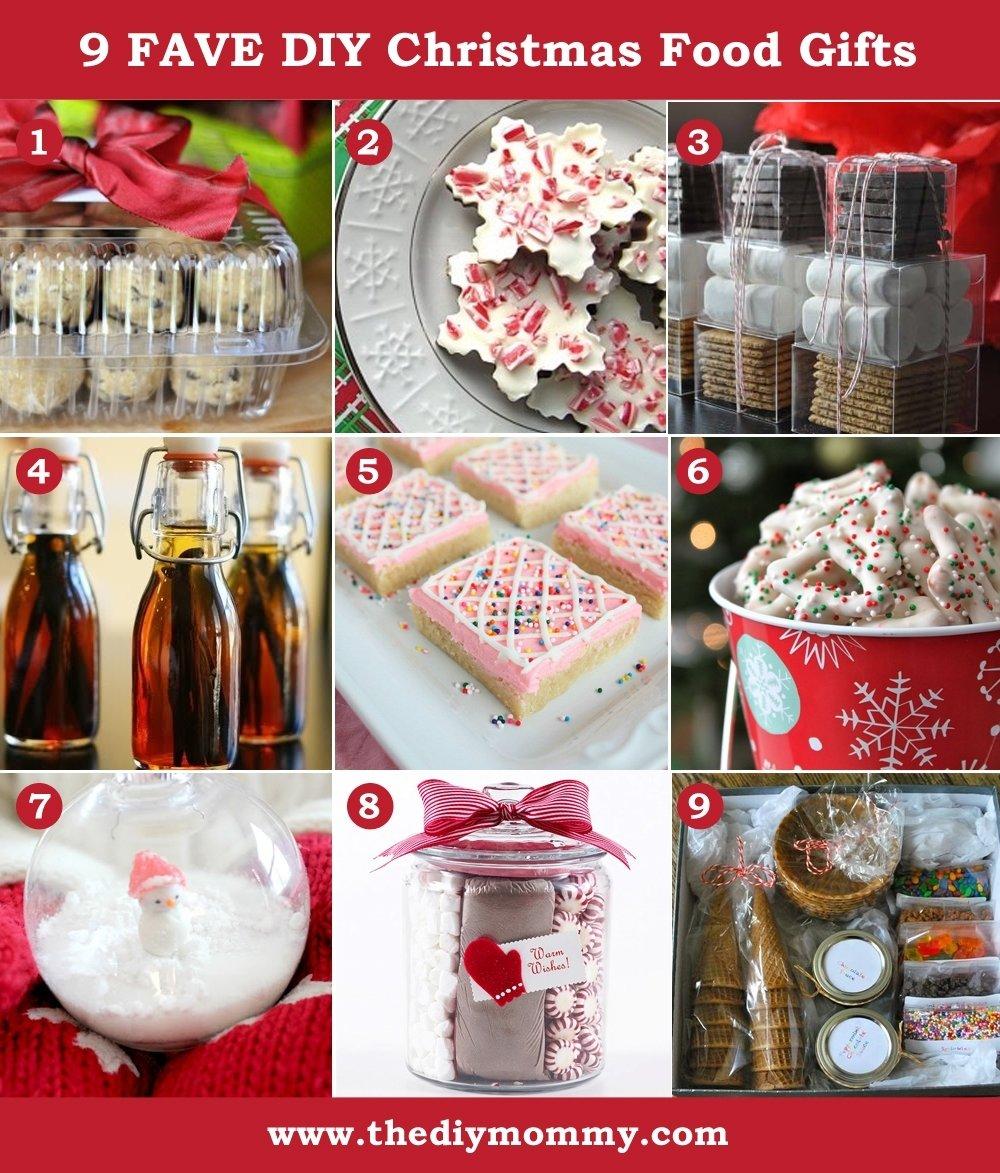 10 Famous Homemade Edible Christmas Gift Ideas a handmade christmas diy food gifts the diy mommy 1 2021