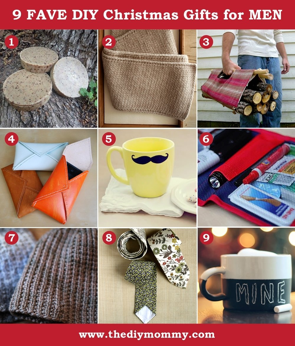 10 Attractive Diy Christmas Gift Ideas For Men a handmade christmas diy gifts for men the diy mommy 2 2021