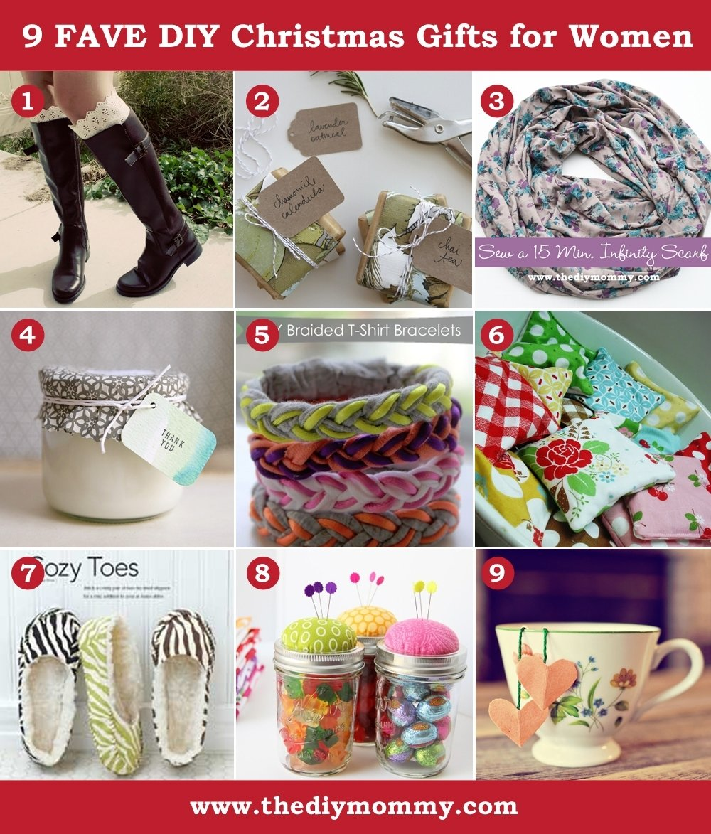 10 Most Recommended Homemade Gift Ideas For Best Friend a handmade christmas diy gifts for women the diy mommy 5