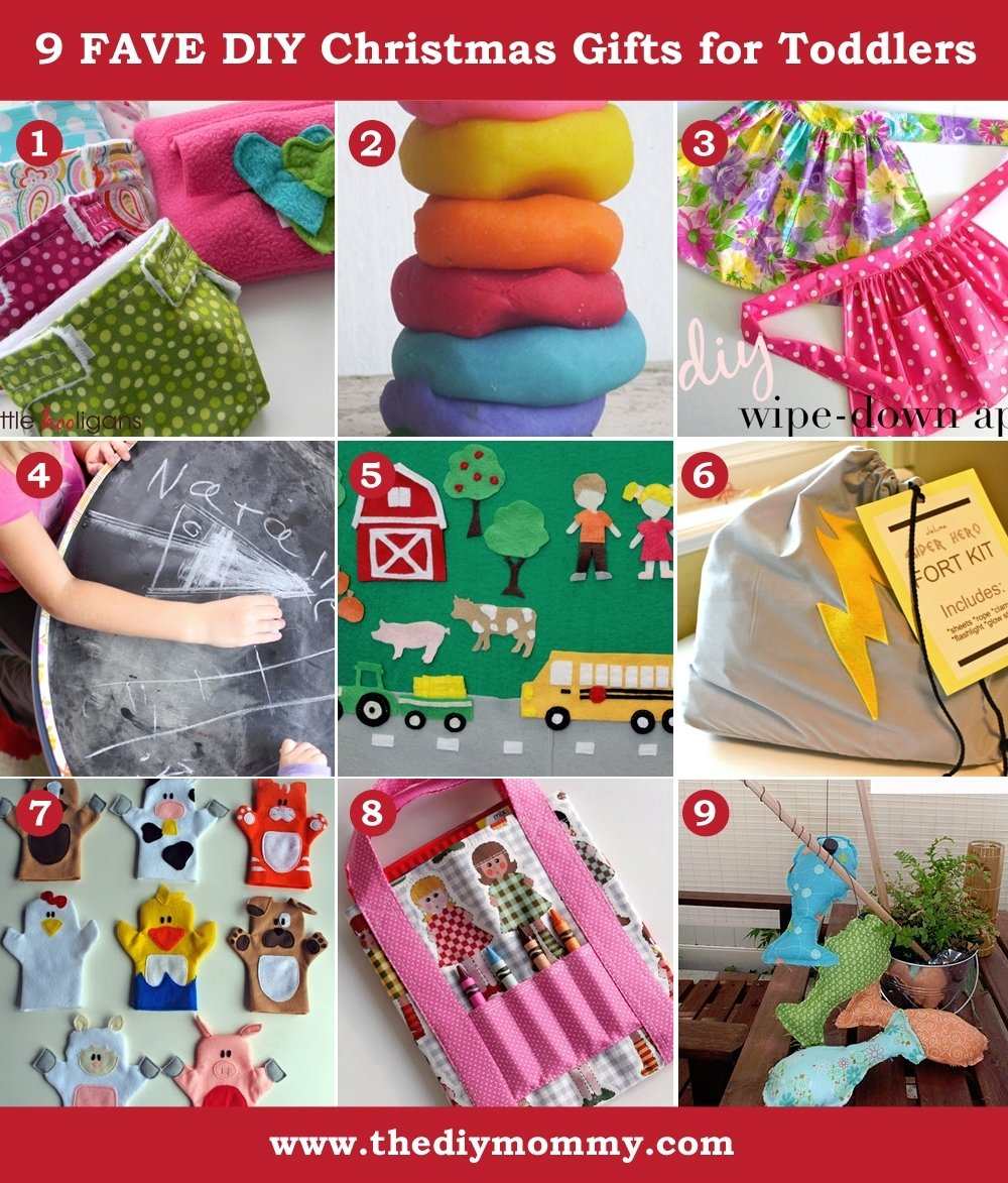 Christmas craft gift ideas for toddlers