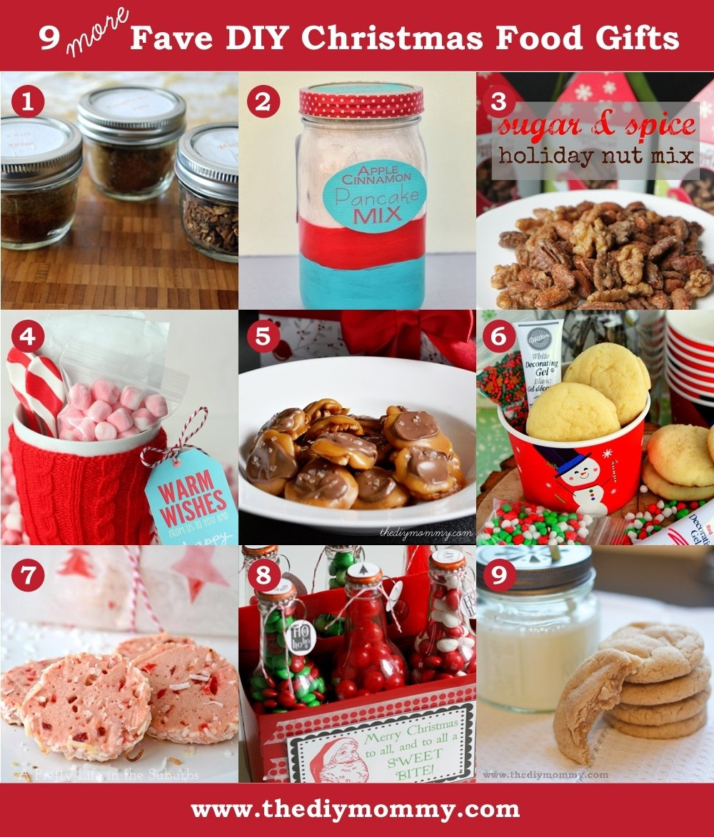 10 Famous Homemade Christmas Food Gift Ideas a handmade christmas more diy food gifts the diy mommy