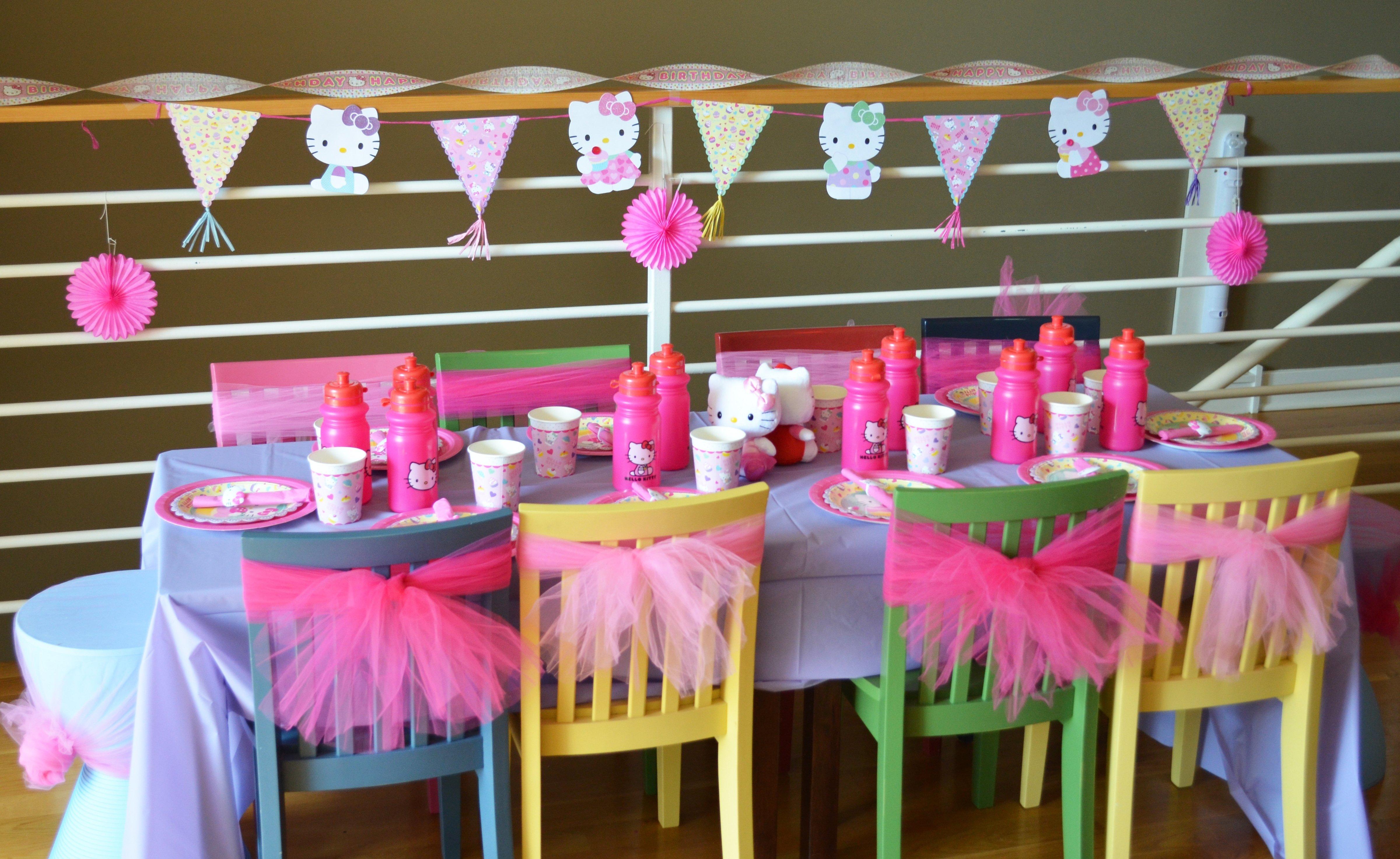 10 Lovable 4 Yr Old Girl Birthday Party Ideas a how to hello kitty birthday party hello kitty birthday kitty 2020