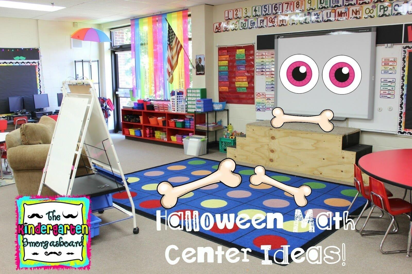 10 Attractive Math Center Ideas For Kindergarten a kindergarten smorgasboard of halloween math center ideas the 2021