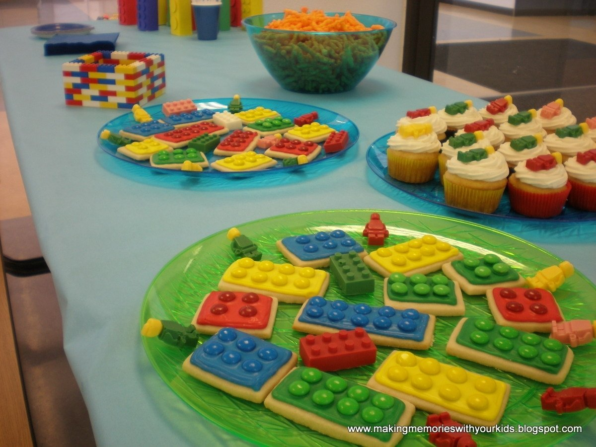 10 Nice Lego Birthday Party Food Ideas a lego birthday party extravaganza making memories with your kids 2020