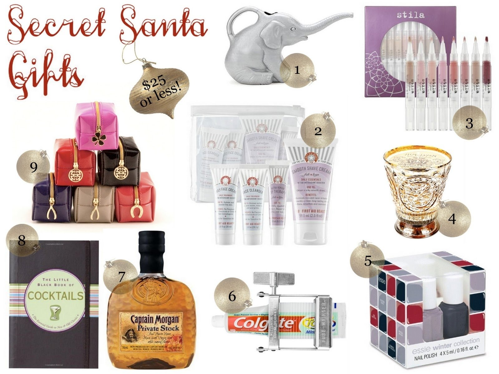 10 Most Recommended Secret Santa Ideas For Work a little bit of lacquer secret santa gift ideas 1 2020