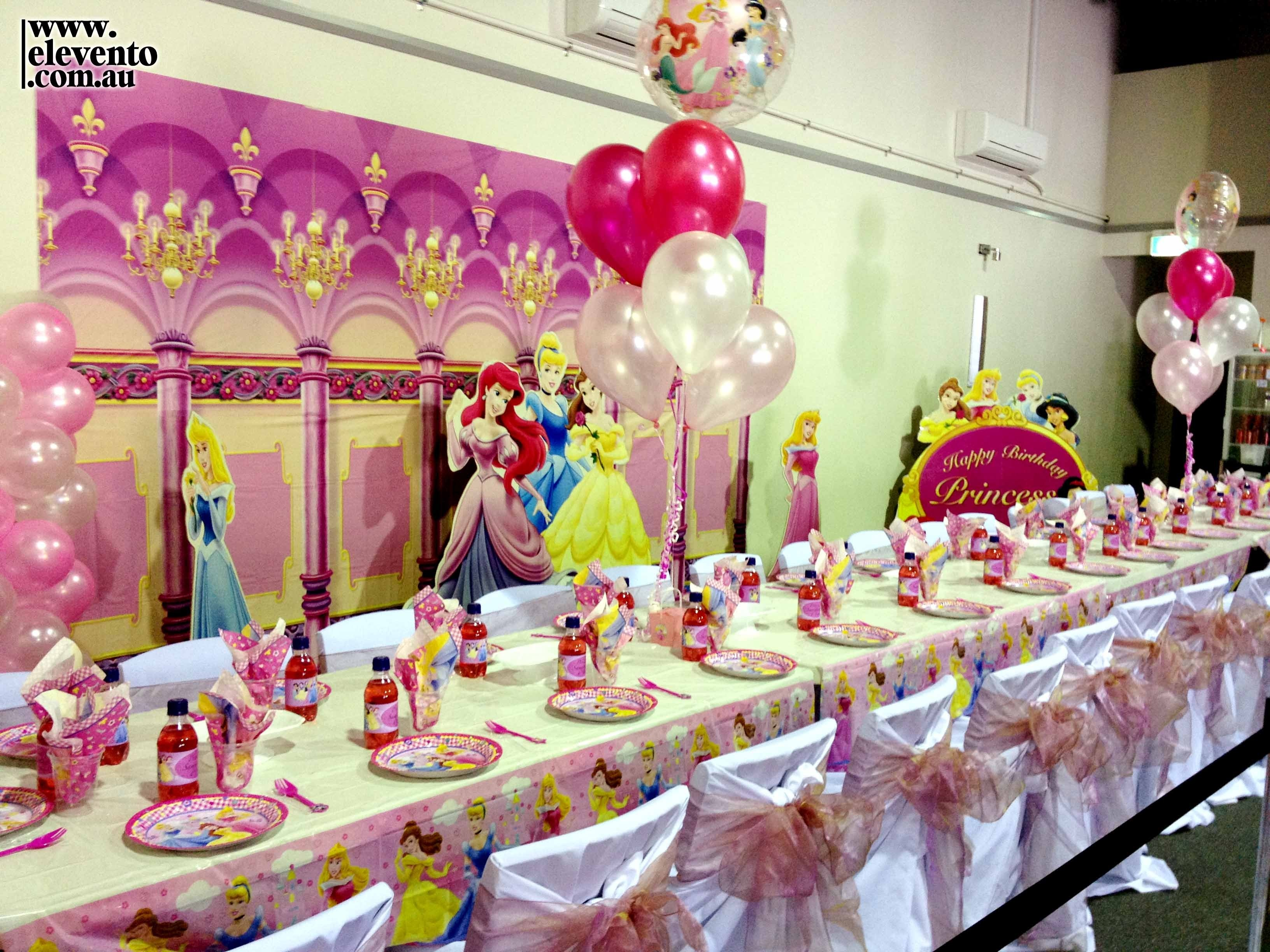10 Beautiful Disney Princess Birthday Party Ideas a little girls dream birthday we set up this disney princess 2020