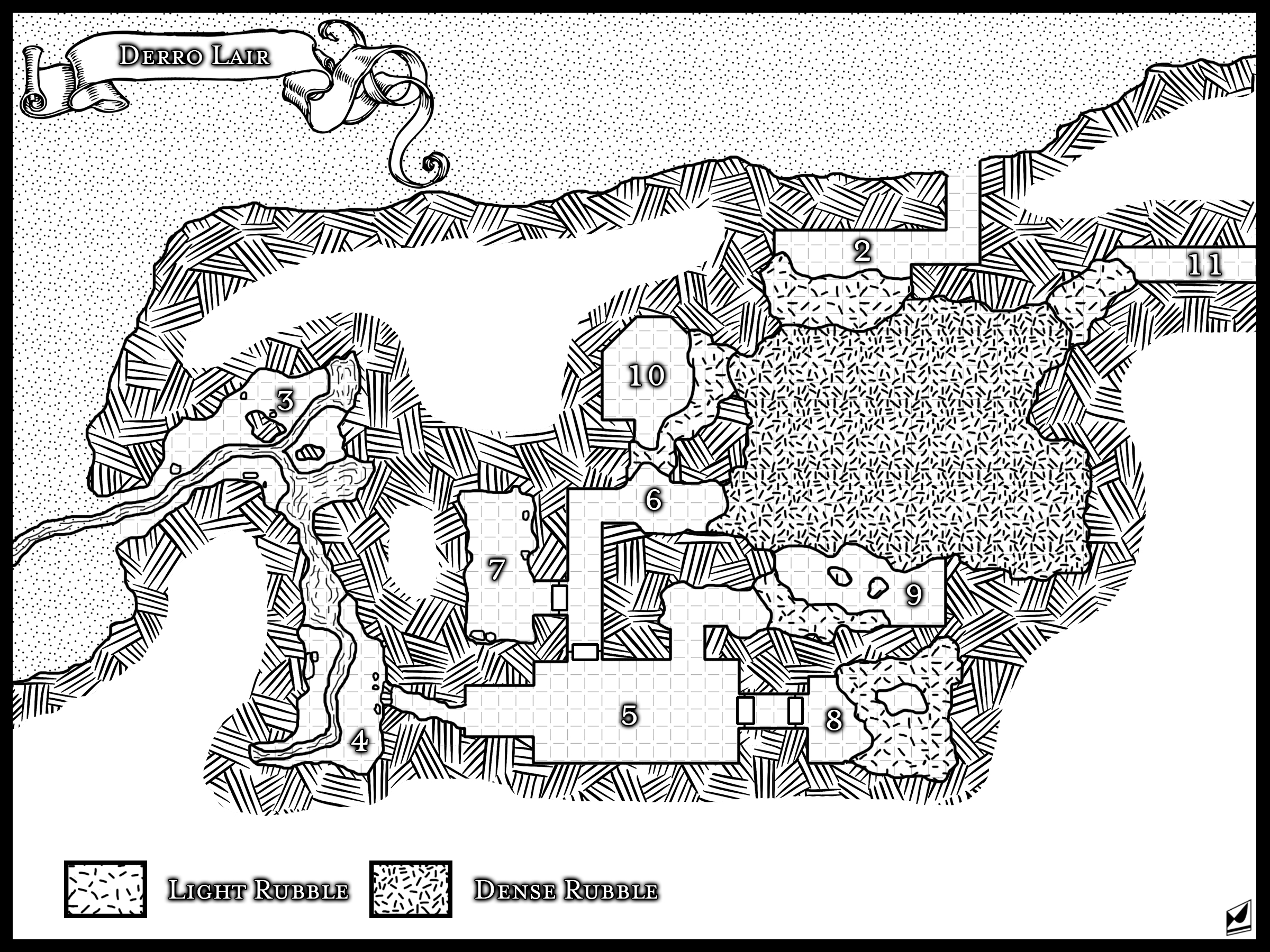 10 Lovable Dungeons And Dragons Campaign Ideas a medium sized cave lair designed for dungeons and dragons based on 1 2020
