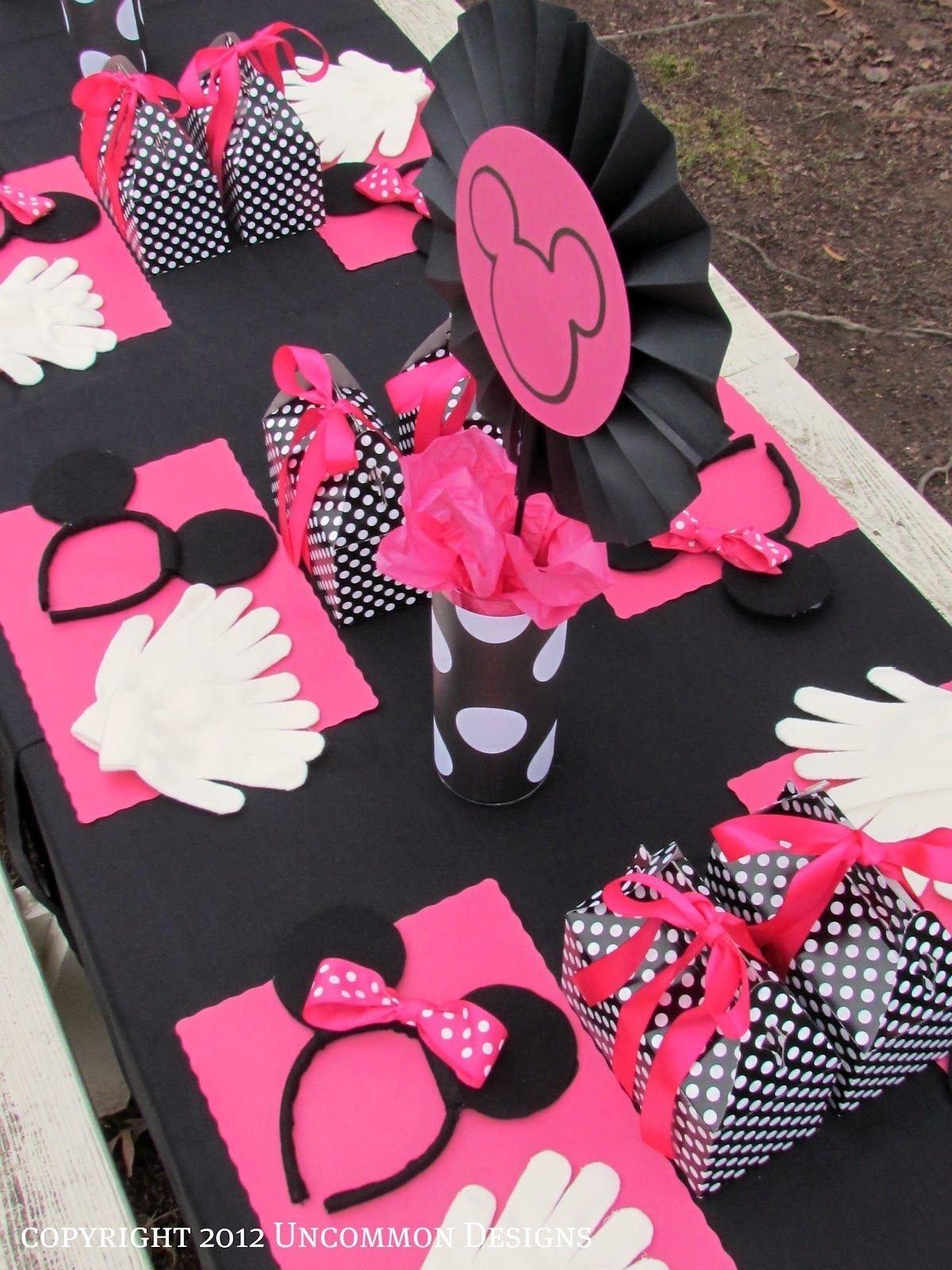 10 Fashionable Minnie Mouse First Birthday Ideas a minnie mouse birthday party minnie mouse mice and birthdays 2021