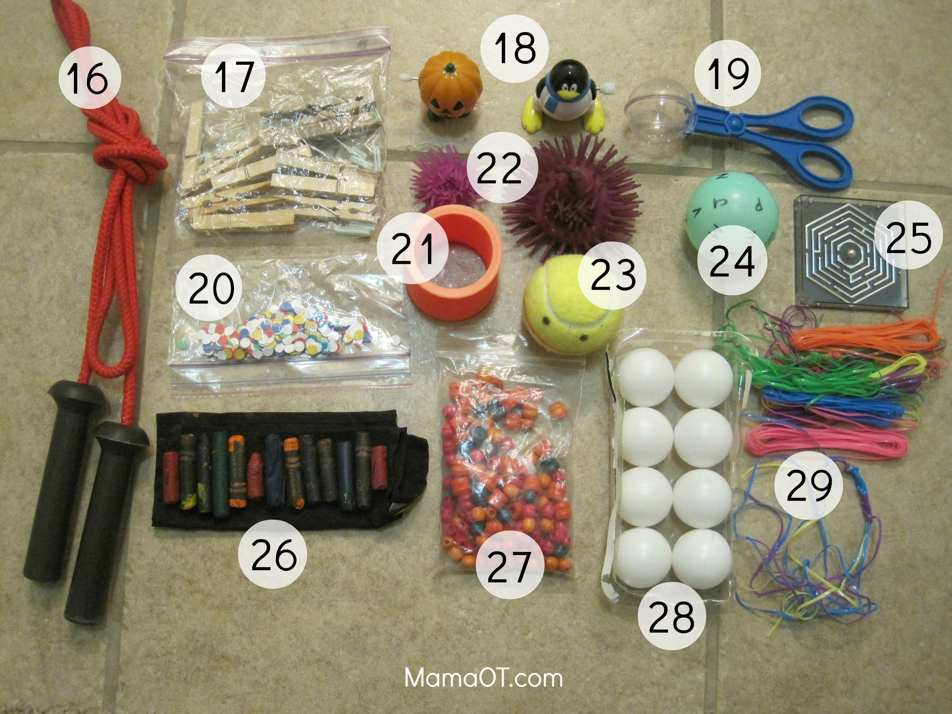 10 Unique Occupational Therapy Activity Ideas For Adults a mom occupational therapist reveals 50 items in her box to help 1 2020